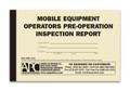APC UMS-1010: Mobile Equipment Operator's Pre-Operation Inspection Report