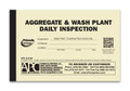APC A-0736: Aggregate & Wash Plant Daily Inspection
