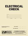APC UMS-1006: Electrical Check (APC UMS-1006) — Front Cover