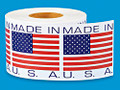 APC: MADE IN USA STICKER