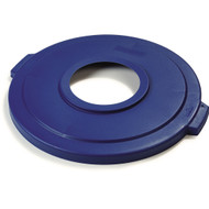 341045REC14 - Bronco   Recycle Lid for 44 Gallon Container