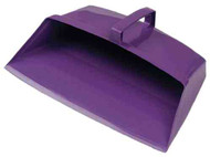 "630013-PL - 12"" Enclosed plastic dustpan, Anti-Microbial"