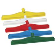 """7713 - 20"""" Double Blade Ultra Hygiene Squeegee - European Thread"""