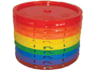LID5 - Case of 6 Lids for 3.5 & 5 Gallon buckets
