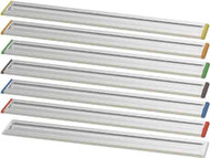 RAIL500 - 20-inch Long Rail w/Colored End Plugs