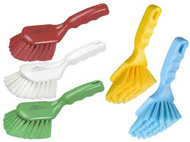 "142024 - 10"" Short Handled Hand Brush, Soft"