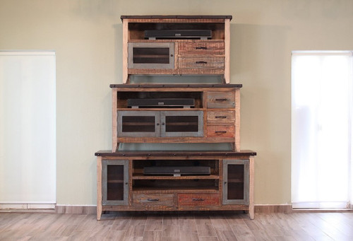 Multi-color Antique Media Console