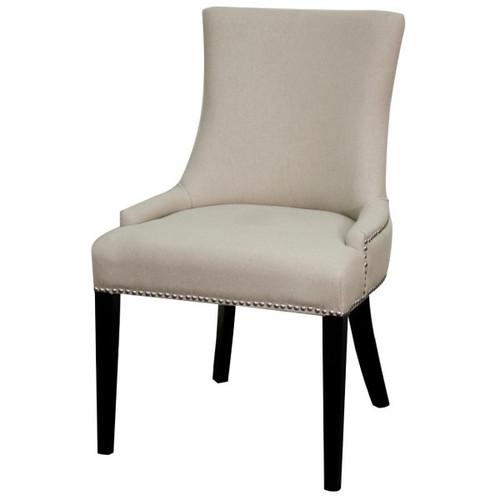 Charlotte Cotton Cream Dining Chair