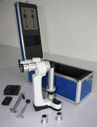 Färber Portable Hand Held Slit Lamp With Case