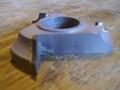 "LRH K-1434-FU shaper cutter molder 3/8"" radius quarter round concave 1-1/4"" bore"