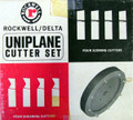 Rockwell CARBIDE Uniplane Cutter Set - (made to order)
