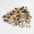 Iron Crimp Beads Covers Mixed Colours 3mm 25/pkg