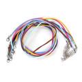 Necklace Velvet Faux Suede Cord Mixed Colours 45cm 10/pkg