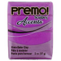 Premo! Sculpey Accents Polymer Clay - Purple Pearl #5031