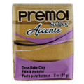 Premo! Sculpey Accents Polymer Clay - 18K Gold #5055
