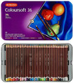 Derwent Coloursoft Pencils Tin – 36