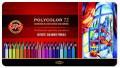 Koh-I-Noor Polycolor Pencil Tin - 72