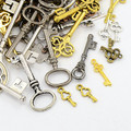 Tibetan Style Mixed Charms 50g - Keys