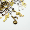 Tibetan Style Mixed Charms 50g - Musical Notes