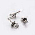 Screw Eye Pin Bails Mixed Stainless Steel 20/pkg