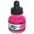 FW Acrylic Artists' Ink 29.5ml – Fluorescent Pink #538