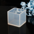 Silicone Resin Mould – Square 35x35x35mm