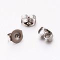 Stainless Steel Earnuts 0.5mm 20/pkg