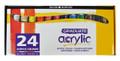 Daler Rowney Graduate Acrylic Set 22ml Tubes 24/pkg