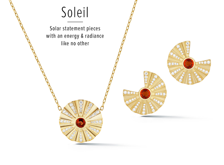 Soleil; Solar statement pieces with an energy & radiance like no other