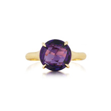 Amethyst Signature Ring