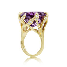 After Dark Amethyst Jeanne Ring
