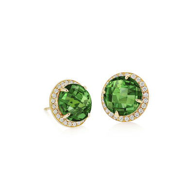 Carey Green Tourmaline Earrings