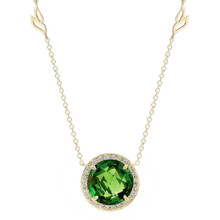 Carey Green Tourmaline Pendant