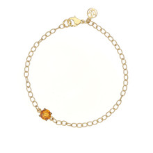 Orange Citrine Signature Bracelet