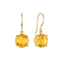 Orange Citrine Signature Earrings