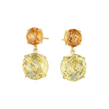 Orange Citrine Summer Fun Signature Earrings