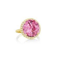 Carey Pink Tourmaline Ring