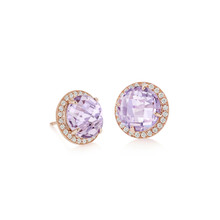 Carey Rose de France Earrings
