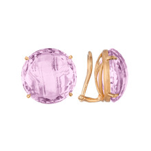Rose de France Signature Clip Earrings