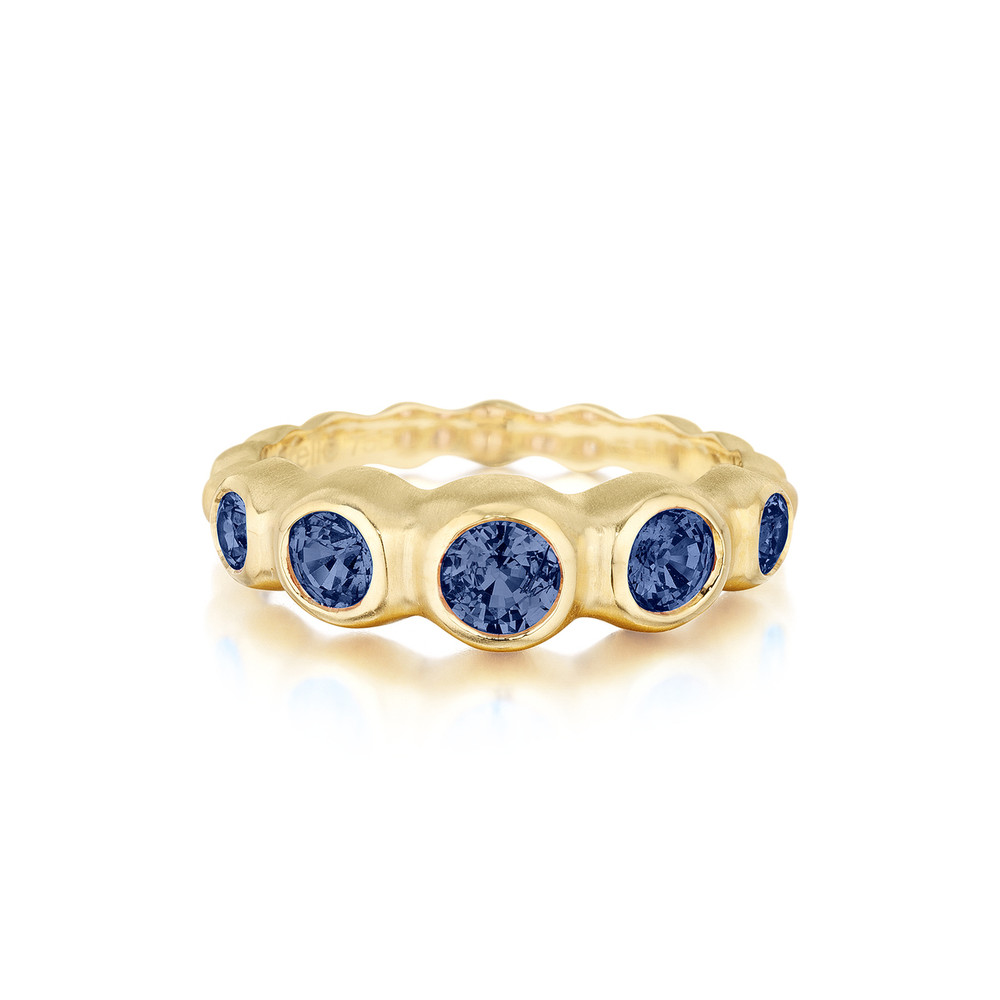 Sapphire Pebbles Ring