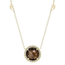 Carey Smoky Quartz Pendant