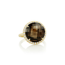 Carey Smoky Quartz Ring