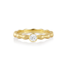Pebbles Solitaire Diamond Band
