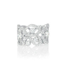 Florette Pave Diamond Band