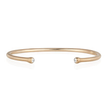 Whirl Stack Bangle in Rose Gold