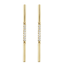Moderne Stick Earrings