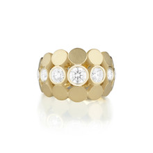 Disco Dots Diamond Ring