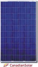 Canadian Solar 250W Poly Module - Silver Frame