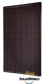 SolarWorld 265W Mono - All Black