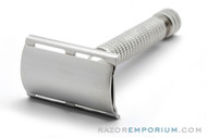 1950's Star Double Edge Safety Razor USA | Factory Nickel Revamp